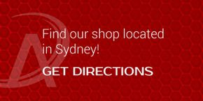 Find our shop located in Sydney! Get Directions